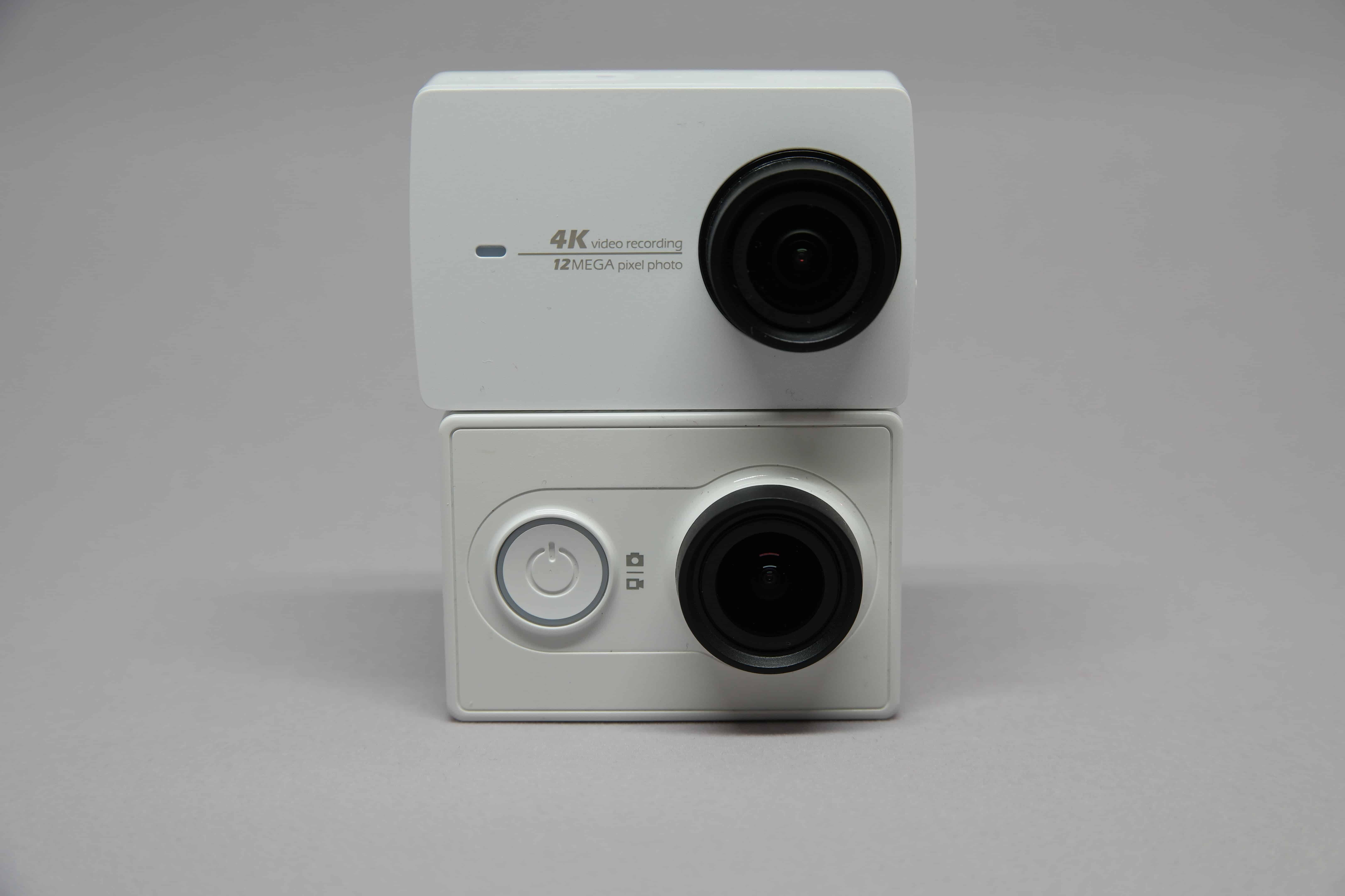 YI 4K an the original YI Action Camera compared