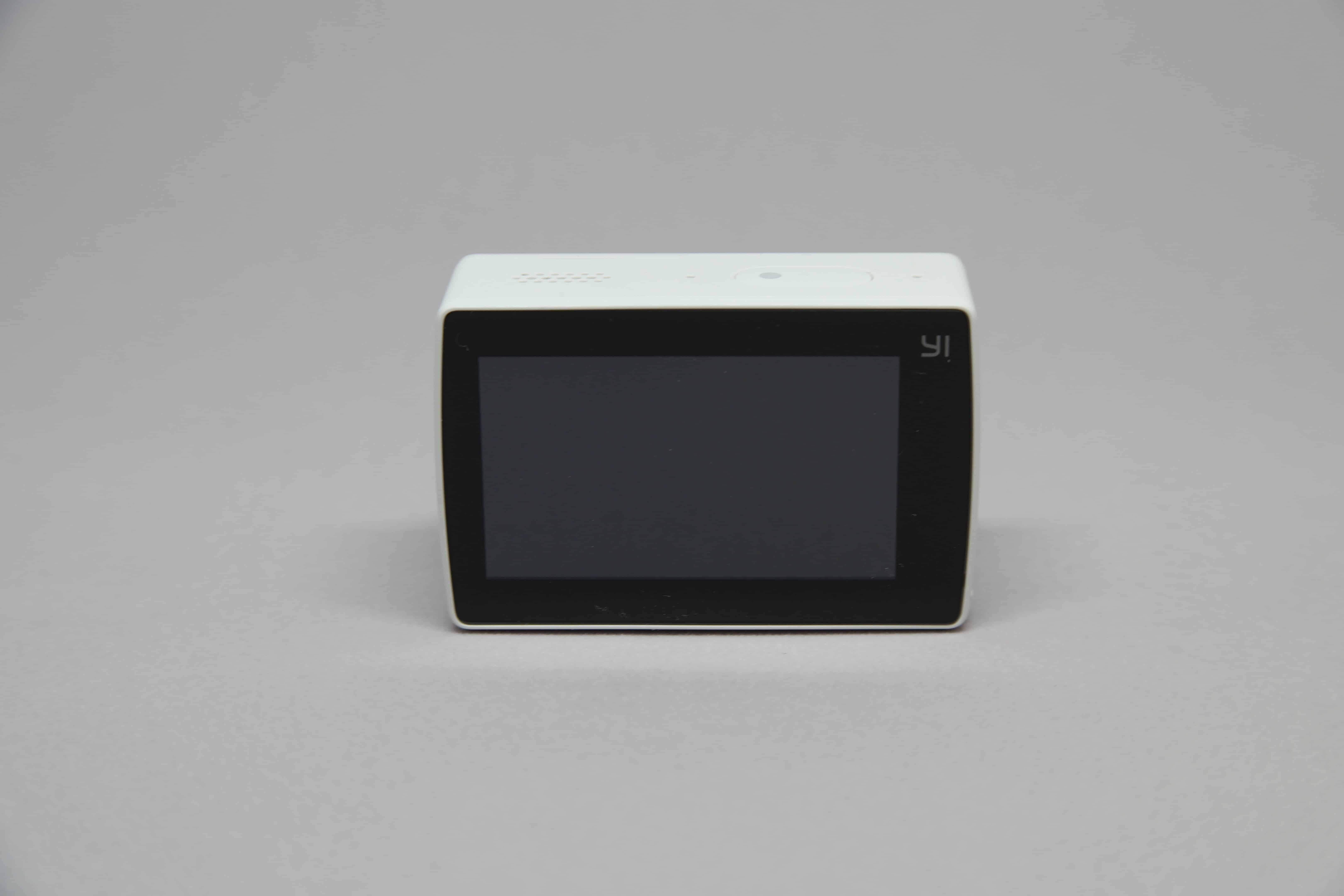 YI 4K touchscreen