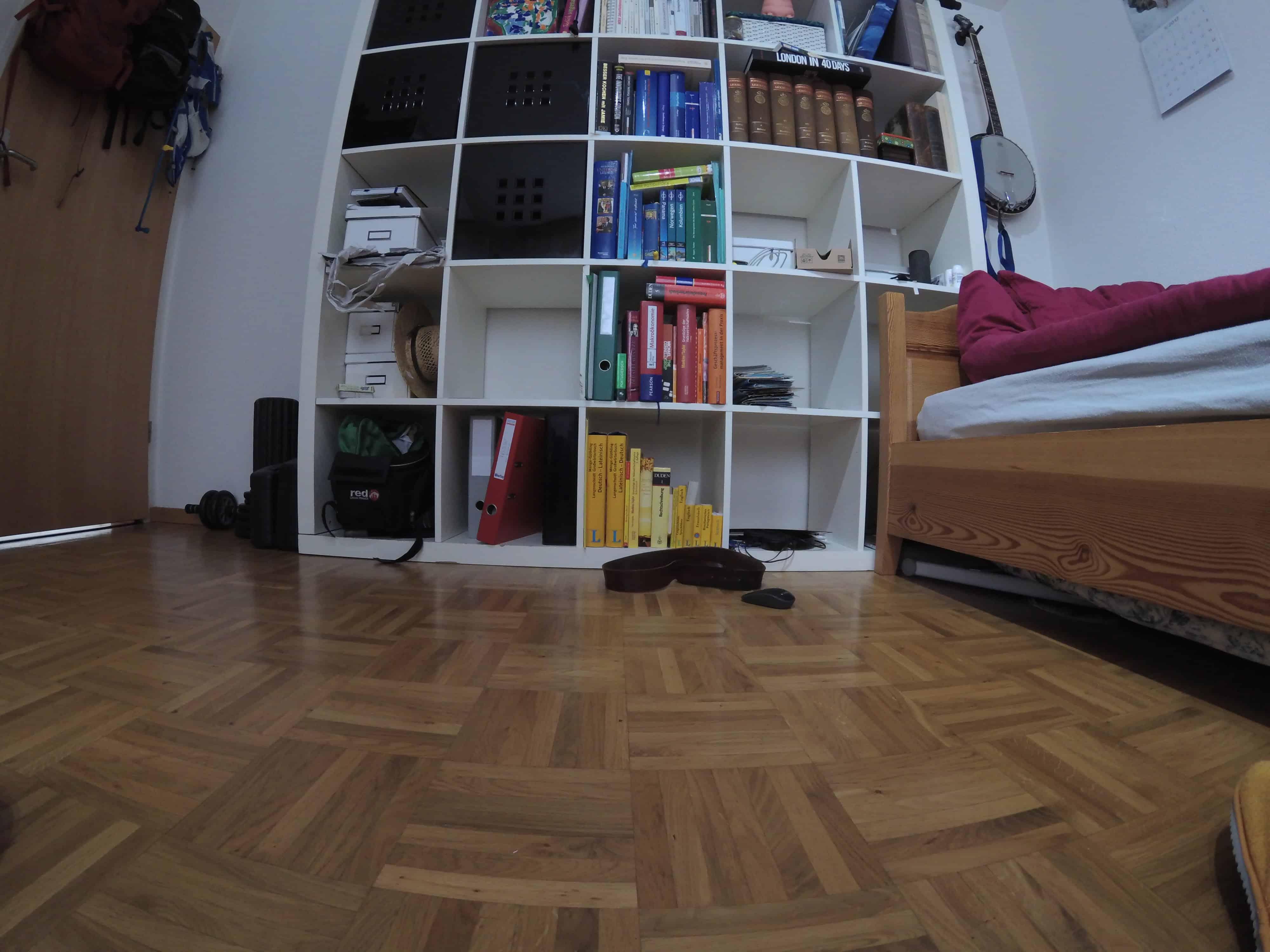 Yi 4K+ Lens Correction