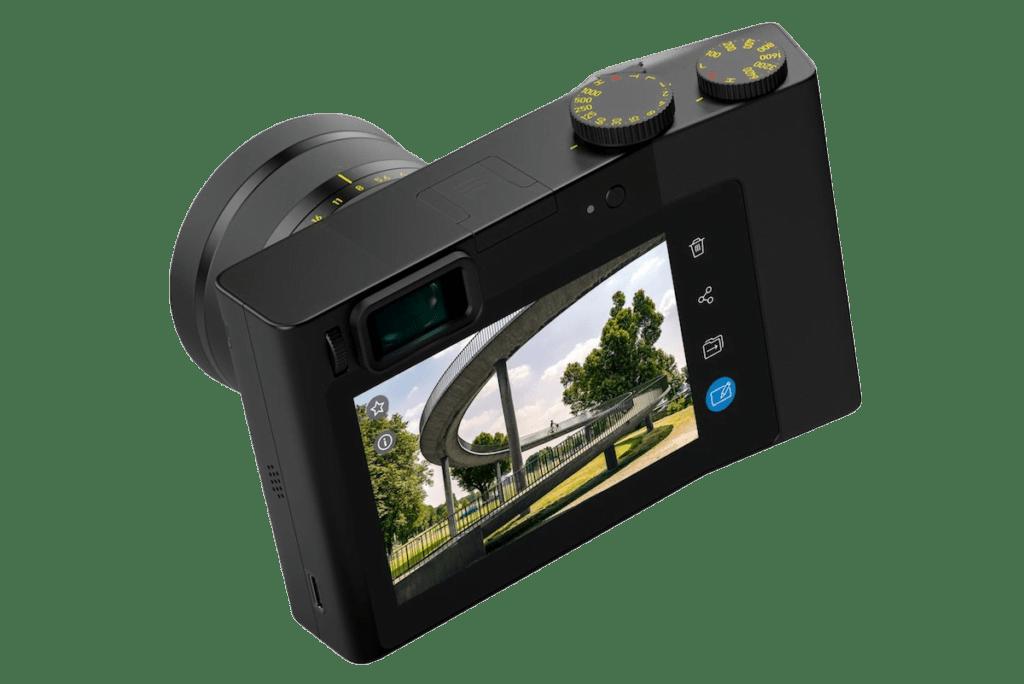 The Zeiss ZX1 has a big touchscreen