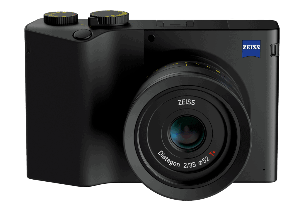 The Zeiss ZX1 from the front