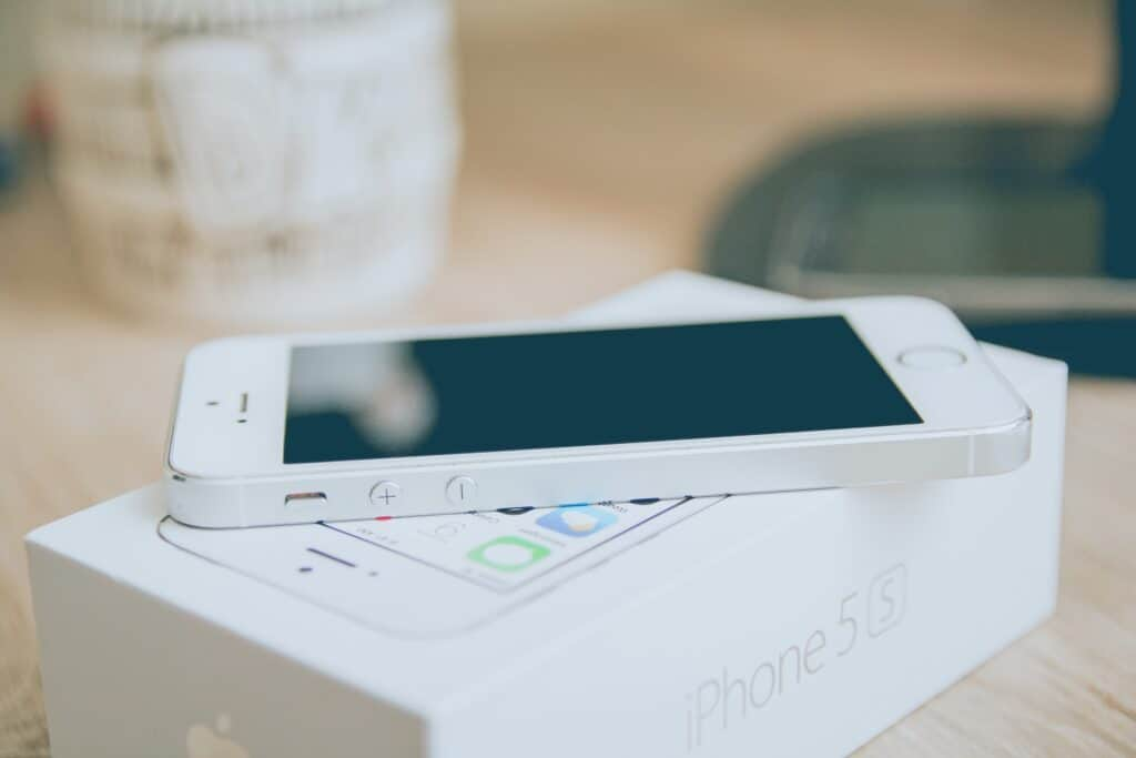 An iPhone 5S